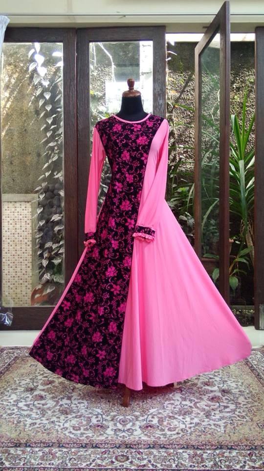 Model Gamis Amika Terbaru Gambar Hijab