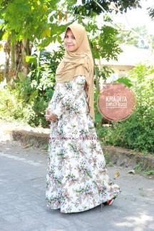 khadija sweet rose gamis