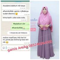 testimoni hijab gamis amika cantik