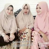 tutorial hijab amika simple